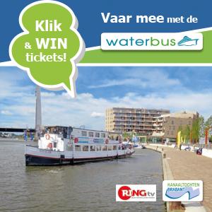 Ontdek gratis het kanaal met de waterbus