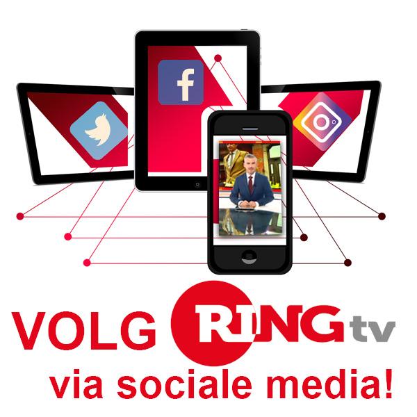 Volg RINGtv via sociale media