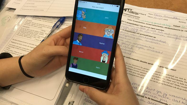 sollicitatie app Halse studenten helpen bij ontwikkeling sollicitatie app | Ring TV
